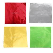 Lot de 400pcs Papier d'Emballage en Aluminium pour Emballage de Bonbons