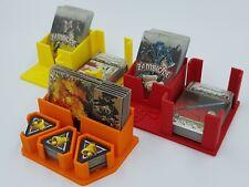 Zombicide Black Plague Card Holders & Draw Decks - Set Of 3