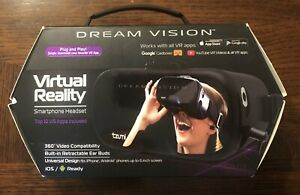 Used Dream Vision Virtual Reality Smartphone Headset