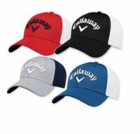 *BRAND NEW* Callaway 2018 FITTED MESH CAP - 4 COLOURS! (S/M,LXL)