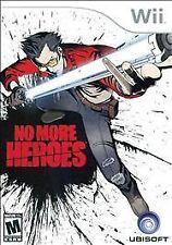 No More Heroes (Nintendo Wii, 2008) complete