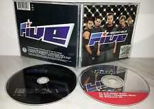 CD FIVE - INVINCIBLE + CD SINGLE IF YA GETTIN DOWN
