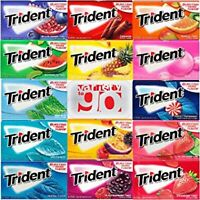 Trident Sugar Free Gum Variety Packs in ALL FLAVORS or (Choose One Single Piece)