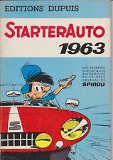 JIDEHEM WAUTERS STARTERAUTO 1963    de 1962 superbe et rare.