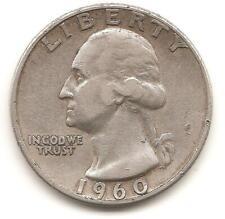 1960 P  Washington Quarter G (90% silver)