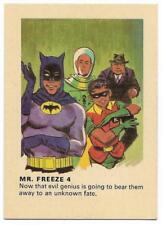 1966 Batman Weeties & Rice Krinkles Mr. Freeze 4