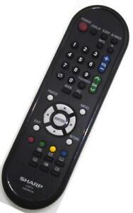 Genuine Sharp GA609WJSA LCD TV Remote For LC-19A33X LC-19A33X-BK LC-19A33X-WH