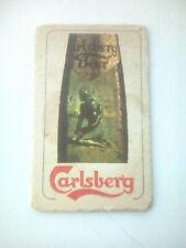 Vintage CARLSBERG  /  BEER  Cat No'?? Beermat / Coaster