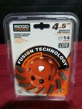 Ridgid Concrete Grinding Coating Removal Leveling 45in Diamond Cup Ao1051588