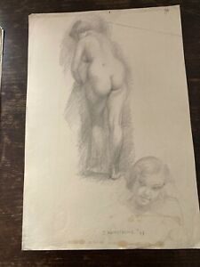 "Vintage Life Study Art by ""Misty"" comics artist John Armstrong (Pencils)"