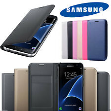 Slim Samsung Galaxy Leather Phone Card Holder Wallet Flip Case Cover -ALL MODELS