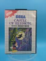 jeu video sega master system complet PAL castle of illusion