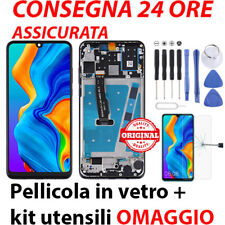 TOUCH SCREEN SCHERMO HUAWEI P30 LITE LCD DISPLAY FRAME NERO BLU BIANCO MAR-LX1
