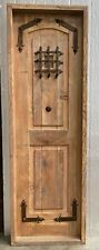 "Rustic reclaimed lumber pantry linen door 26 X 79 left hand 1.75"" 5.25 jamb"