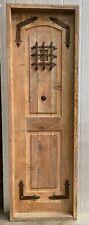 """Rustic reclaimed lumber pantry linen door 26 X 79 left hand 1.75"""" 5.25 jamb"""