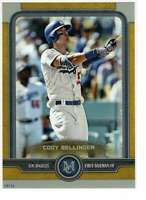 Cody Bellinger 2019 Topps Museum 5x7 Gold #49 /10 Dodgers