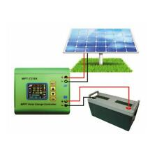 LCD MPPT Solar Regulator Charge Controller 24/36/48/60/72V Boost MPT-7210A green