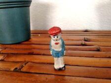 "Vintage Bisque Fas Japan 2.25"" Great Facial Details Doll"