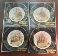 4 Weatherby, England, Royal Falcon Ship Plates Unused in Original Packages
