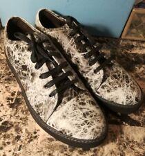 Lanvin Marble Effect Cap Toe Calfskin Sneaker, NIB Size 12 UK/ 13 US  $595