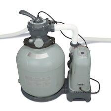 Intex 2650 GPH Saltwater System Filter Pump Swimming Pool Set 28679EG (Open Box)