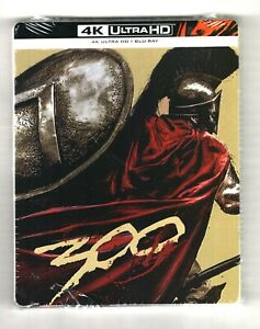 300 - 4K UHD + 2D - Blu-ray Steelbook - NEW/SEALED