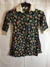 Vintage 1960s Girls Dress Mod Hippie Atkins Exclusive Handmade Size 10