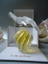 LALIQUE NINA RICCI L'AIR DU TEMPS 1/2oz Parfum Vtg 80s Doves Factory Sealed Box