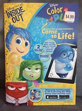 DISNEY PIXAR INSIDE OUT COLOR AND PLAY COLORING BOOK FOR USE WITH DISNEY APP