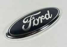 """FORD 7"""" EMBLEM REAR LIFTGATE BLUE OVAL BADGE back grille grill sign symbol logo"""