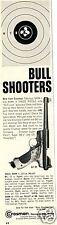 1967 Crosman Mark I & II Target Pistol Pellet BB Gun Print Ad