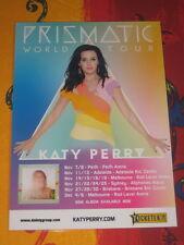 KATY PERRY  -  2014  PRISMATIC AUSTRALIAN  TOUR.  -  PROMO TOUR POSTER.