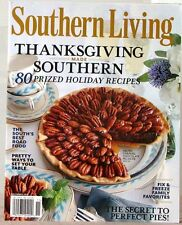 SOUTHERN  LIVING Magazine THANKSGIVING Made Southern 80 PRIZED Recipes PIES
