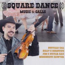SQUARE DANCE ( MUSIC & CALLS ) - CD - VARIOUS ARTISTS  ( Neu )