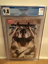 AVENGERS WORLD #3 Variant 1:50 Marvel Agustin Alessio Cover Shang Chi CGC 9.8