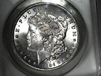 1884 O ANACS MS63 Vam 37 Morgan Dollar MPD