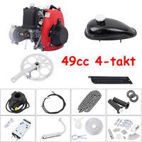 49cc 4-Stroke Cycle Gas Motor Bike Bicycle Motorized Engine Kit Single Cylinder