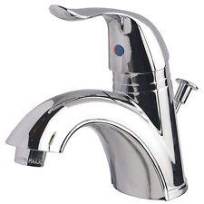 Contemporary Bathroom Vanity Sink Centerset Lavatory Faucet Chrome Finish