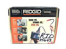 New Ridgid 25643 Seesnake Micro Handheld Inspection Camera With Flexible Camera