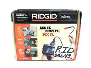 NEW RIDGID 25643 SeeSnake Micro Handheld Inspection Camera w/ Flexible Camera