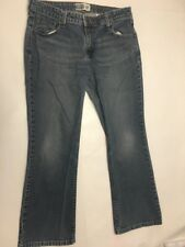 VTG Levi Strauss Signature Jeans Size Misses  14 Short Flare Boot Cut Leg *