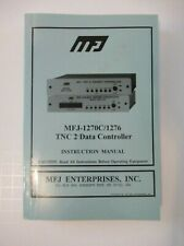 MFJ-1270C/1276 TNC 2 Data Contoller Instruction Radio Computer Manual