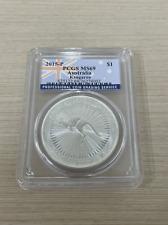 2015-P Australia Kangaroo 1 Dollar 1Oz .999 Silver Pcgs Ms69