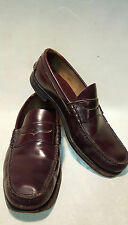 LL Bean K540 Oxblood Leather Loafer Men's 10 D Driving Shoes United States