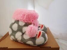 Paul Frank Slippers - Little Girl's, Julius Monkey face Multi-Color size 13-1