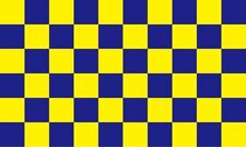SURREY  5 X 3 HOUSE FLAG ENGLAND UNITED KINGDOM BLUE AND YELLOW SQUARES