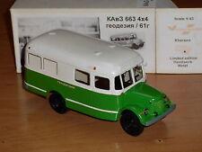 BUS KAVZ-663,1,43, Russische Handarbeit Metall Modell,Hersteller:Vector Models.