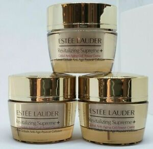 3x Estee Lauder Revitalizing Supreme + Anti-Aging Cell Power Creme 1.5oz / 45ml