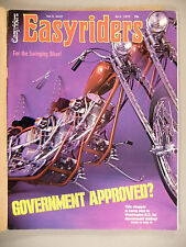 Easyriders Magazine - April, 1972 -- nice condition
