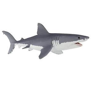Great White Shark 6.5 Inch Sea Life Figure Safari Ltd NEW Toys Educational Kids